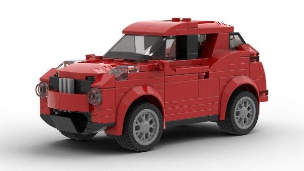LEGO Nissan Juke Model