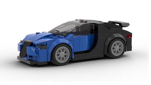 LEGO Bugatti Chiron Model