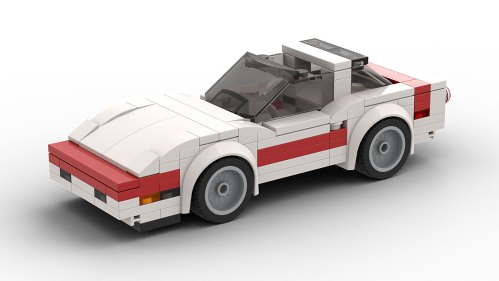 LEGO Chevrolet Corvette C4 Targa Top Model