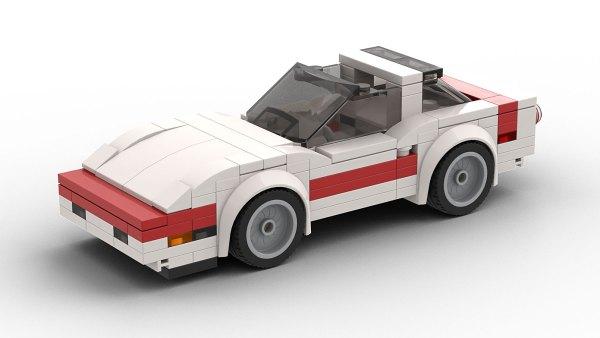 LEGO Chevrolet Corvette C4 Targa Top Model