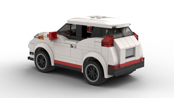 LEGO Nissan Juke Nismo RS Model Rear View