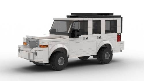LEGO Jeep Commander model