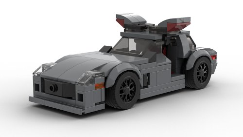 LEGO Mercedes-Benz SLS AMG Open Doors model