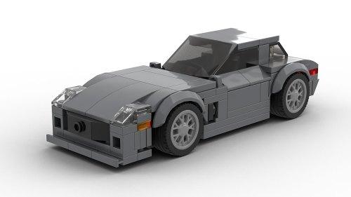 LEGO Mercedes-Benz SLS AMG model