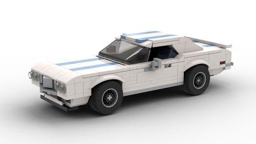 LEGO Pontiac Firebird Trans Am 69 model
