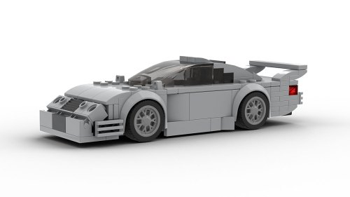 LEGO Mercedes-Benz CLK GTR model