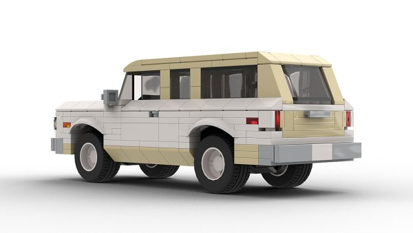 LEGO Chevrolet Suburban 1967 model