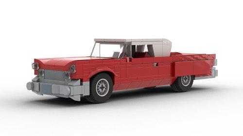 LEGO Continental Mark IV model