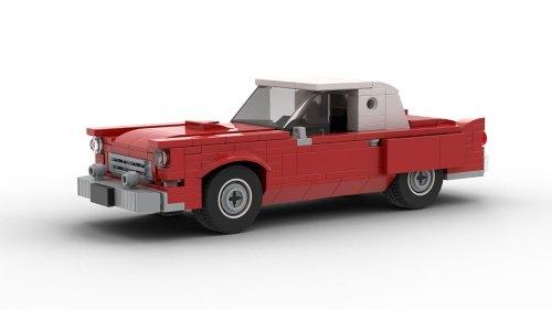 LEGO Ford Thunderbird 1955 model