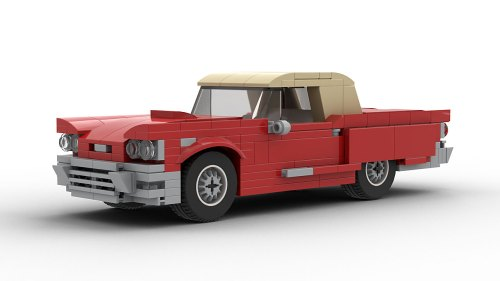 LEGO Ford Thunderbird 1960 model