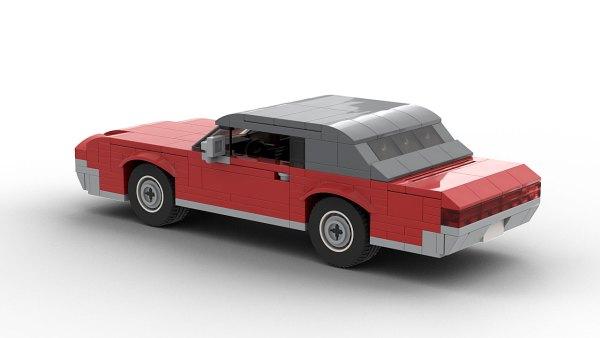 LEGO Ford Thunderbird 67 model rear view
