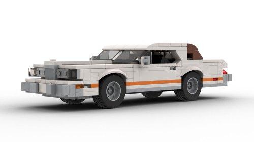 LEGO Ford Thunderbird 73 model