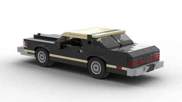LEGO Ford Thunderbird 79 model rear view