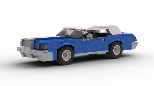 LEGO Lincoln Continental Mark III model
