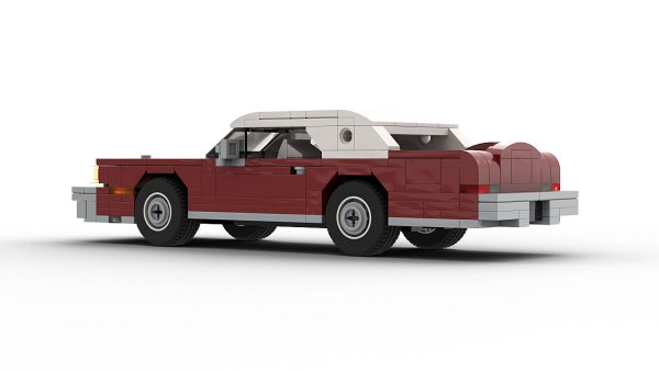 LEGO Lincoln Continental Mark IV model