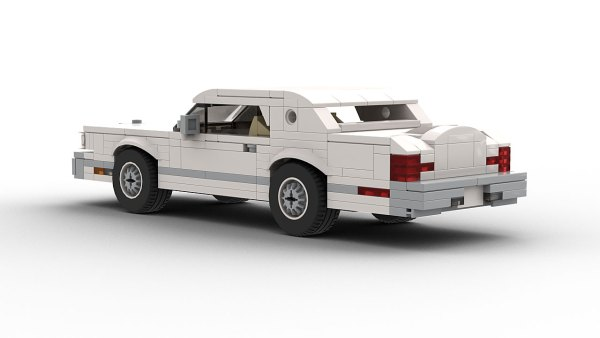 LEGO Lincoln Continental Mark V rear view