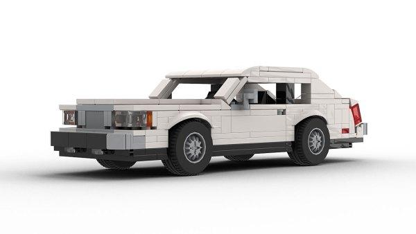 LEGO Lincoln Continental Mark VII model