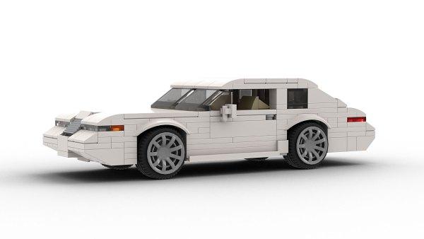 LEGO Lincoln Mark VIII model