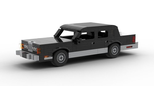 LEGO Lincoln Town Car 89 model