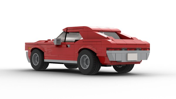 LEGO AMC Javelin 68 model rear view