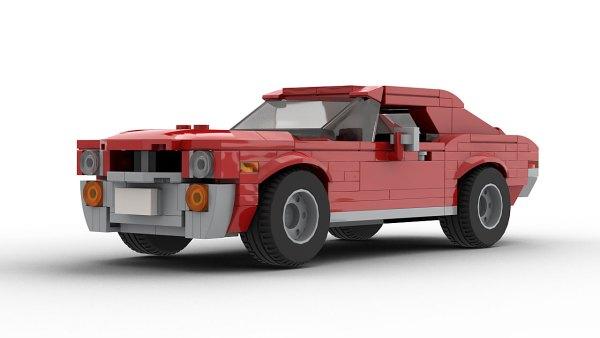 LEGO AMC Javelin 68 model