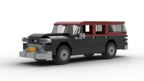 LEGO Checker Superba model
