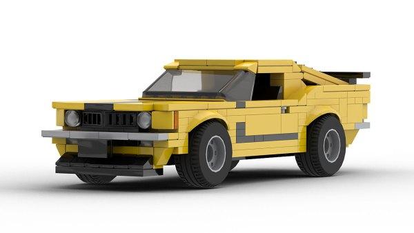 LEGO Ford Mustang Boss 302 70 model