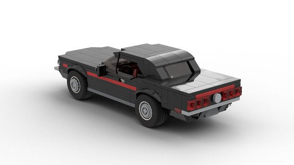 LEGO Ford Mustang High Country Special 68 model rear view