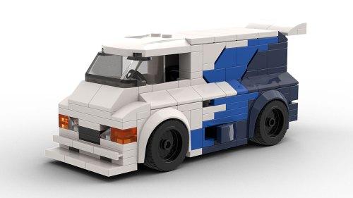 LEGO Ford Supervan 3 model
