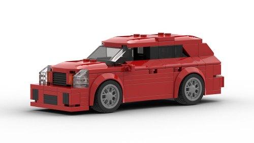 LEGO Cadillac CTS-V Wagon model