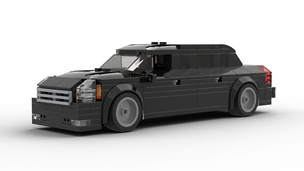 LEGO Cadillac US President Limo The Beast model