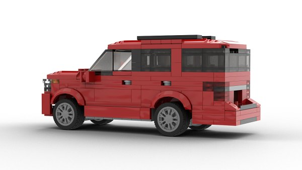 LEGO Ford Expedition 2020 model Rear View