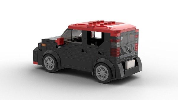 LEGO Kia Soul 2018 model rear view