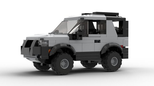 LEGO Land Rover Freelander 98 3-door model