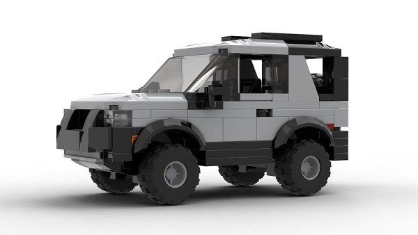 LEGO Land Rover Freelander 98 3-door model