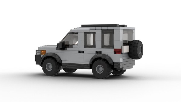 LEGO Land Rover Freelander 98 model rear view