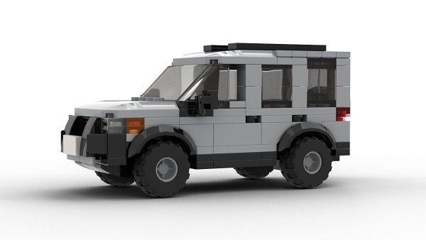 LEGO Land Rover Freelander 98 model