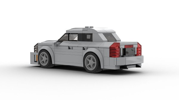 LEGO Cadillac CTS Sedan 2005 rear view model