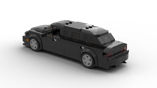 LEGO Mercedes-Benz E Class Limo model rear view