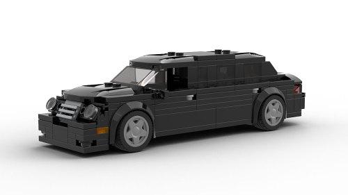 LEGO Mercedes-Benz E Class Limo model