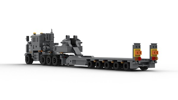LEGO Oshkosh M1070F rear view model