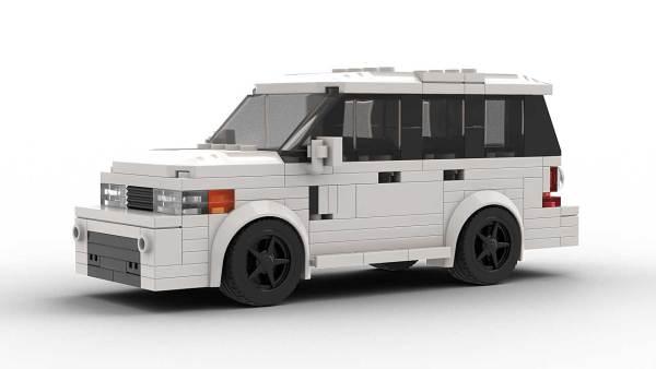 LEGO Range Rover Sport model