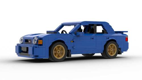LEGO Subaru Impreza WRX 01 model