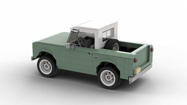 LEGO International Scout 80 model rear view