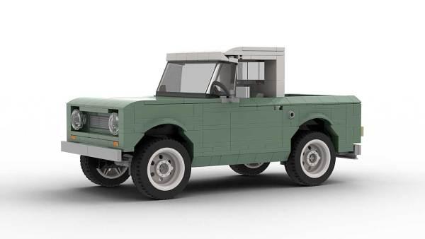LEGO International Scout 80 model