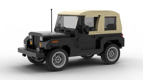LEGO Jeep Wrangler YJ model