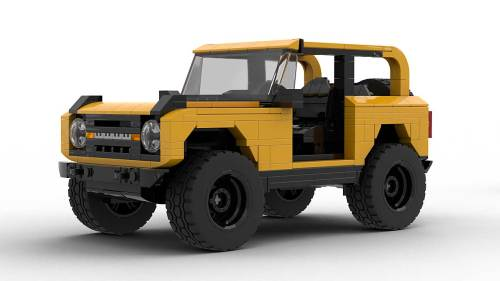 LEGO Ford Bronco 2021 model
