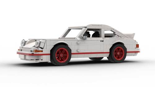 LEGO Porsche 911 Carrera RS model