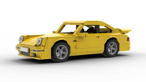 LEGO Porsche 993 Turbo model