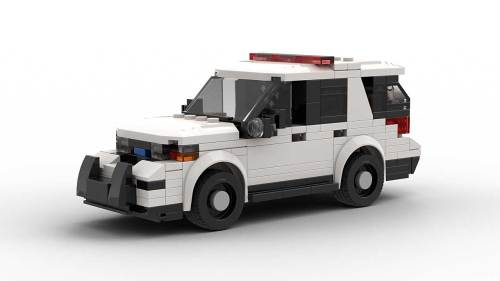 LEGO Ford Explorer Police Interceptor model